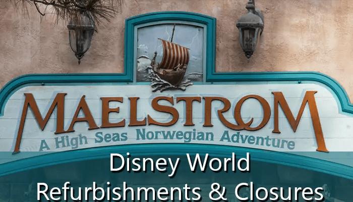 2015 Disney World Attraction/Ride Closures and Refurbishments