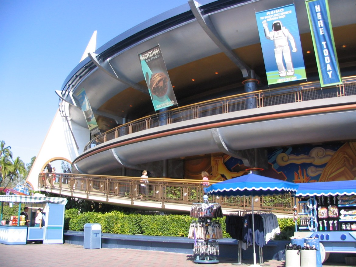Disneyland's New Innoventions Rumored to Open in November