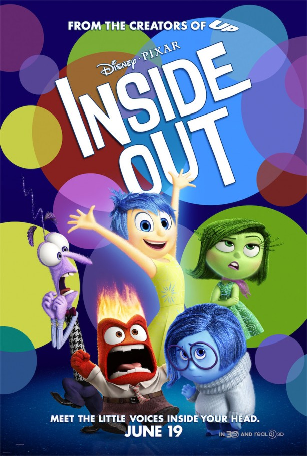 Disney/Pixar's Inside Out Is Packed Full Of Emotions