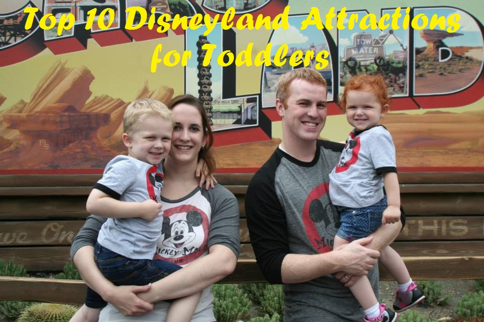 Top 10 Disneyland Attractions for Toddlers