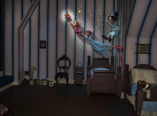 New Magic Added to Peter Pan's Flight at Disneyland