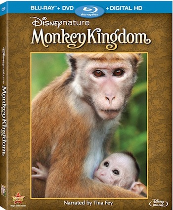 Disneynature Monkey Kingdom DigitalHD, DMA, and Blu-ray Combo Pack Coming This Fall