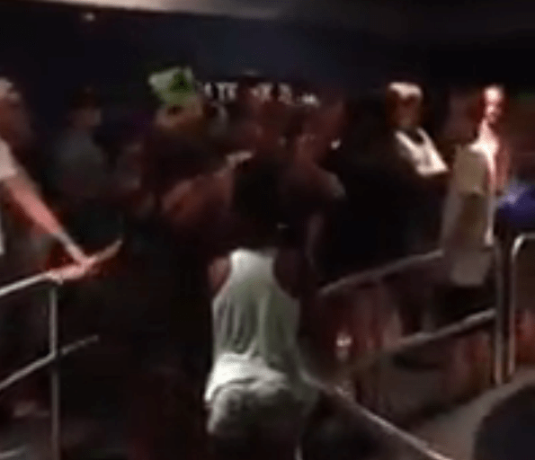 Fight breaks out in line on Epcot's Test Track