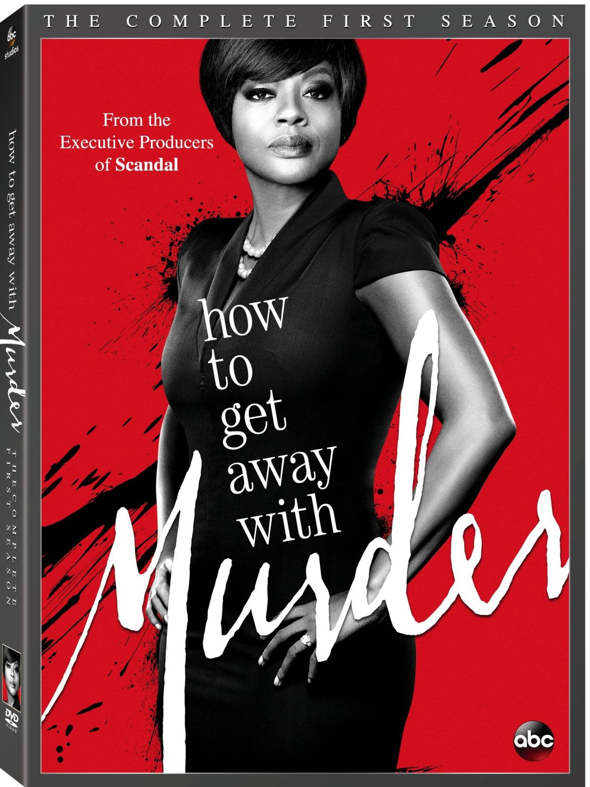 How To Get Away With Murder: The Complete First Season on DVD August 4th!