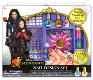 """Descendants Nail Design Set Licensee: Innovative Designs MSRP: $14.99 Retailers: Toys """"R"""" Us & Kohl's Available: August 15 Create sparkling nail designs and show off your trendy style in many ways using nail polish, rainbow foil, sparkling confetti and more!"""