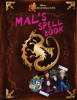 THE ISLE OF THE LOST: A Descendants Novel MSRP: $11.99 Available: Now For fans of Descendants, this spell book, which formerly belonged to Maleficent before she passed it on to Mal, is full of comments, notes, and inside jokes between Mal and the other villains' kids. Laugh and cry along with Mal, Evie, Jay and Carlos as they find their way in the world of Auradon Prep.