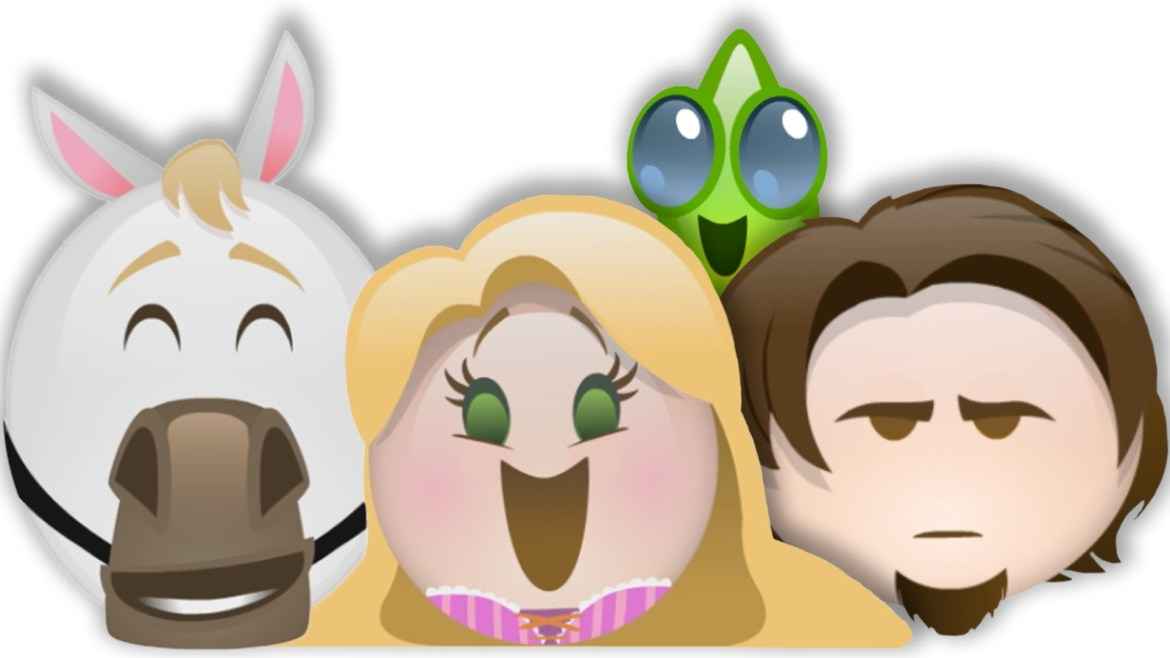 New Tangled Reold through Emoji Video