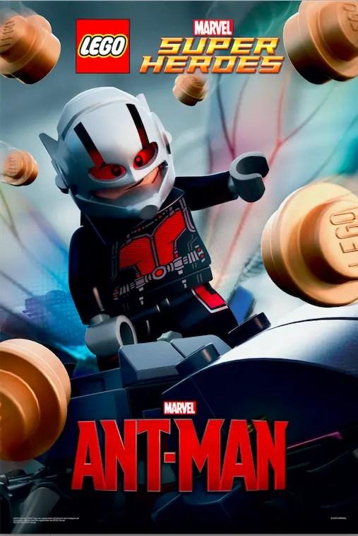Lego Celebrates Ant Man Movie Premiere