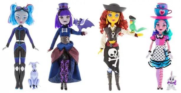 Popular Disney Theme Park Attractions Inspire New 'Disney Attractionistas' Dolls