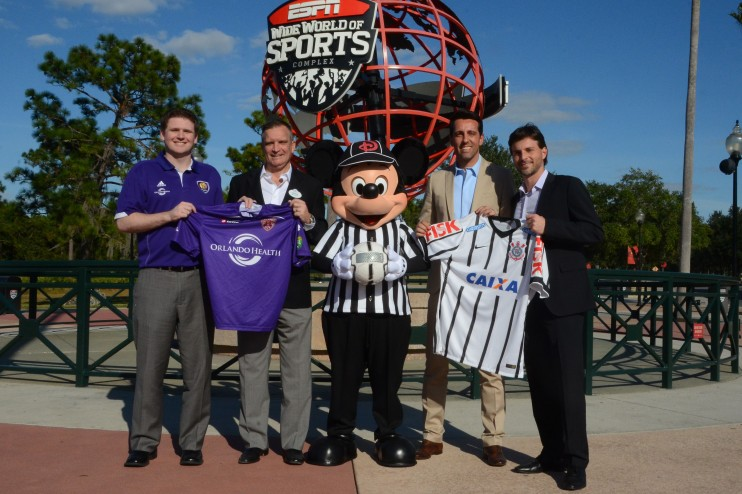 International Soccer Teams to go Head to Head During the 2016 Florida Cup at Walt Disney World Resort