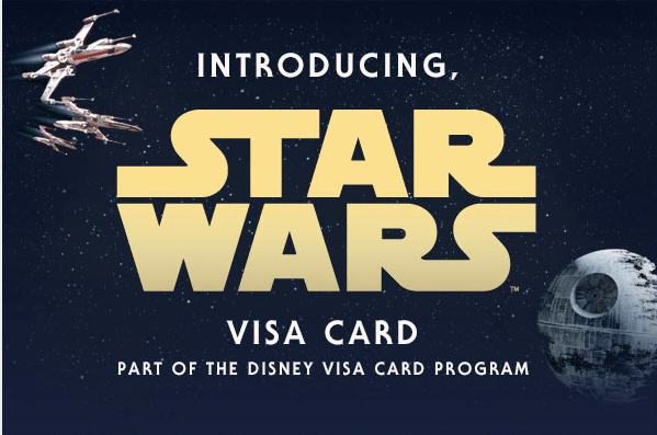 Get Your Hands on the New Star Wars Themed Disney Visa Card
