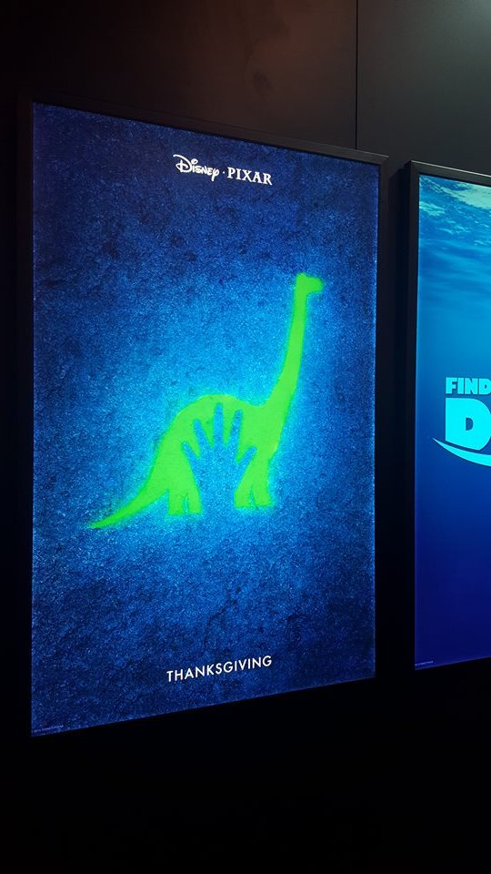 """T-Rexes From """"The Good Dinosaur"""" Spotted at D23 Expo 2015!"""