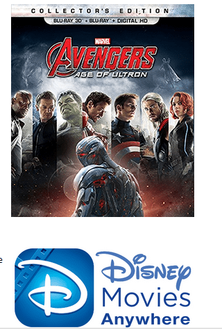 Marvel's Avengers: Age of Ultron Arrives on Digital HD and Disney Movies Anywhere