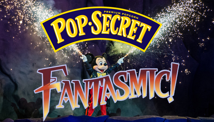 Pop Secret is now the official popcorn of Disney Parks and official sponsor of Fantasmic!