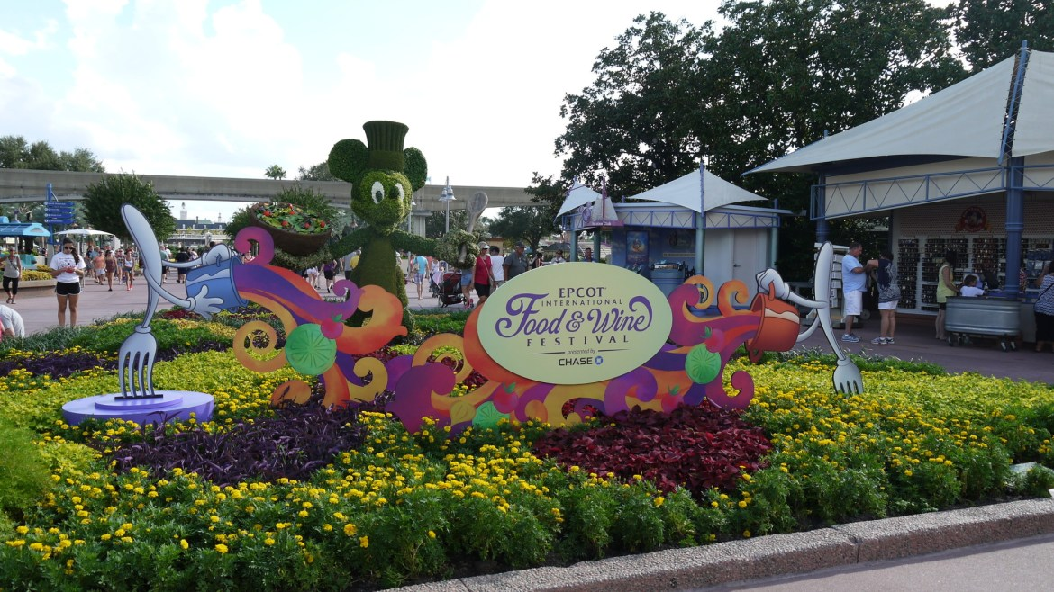 New Enhanced Chase Lounge returning to the 20th Celebration of the Epcot International Food & Wine Festival