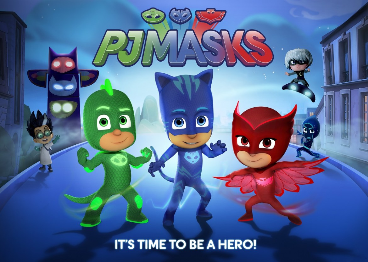 Heroic New Animated Series PJ Masks to Debut on Disney Junior