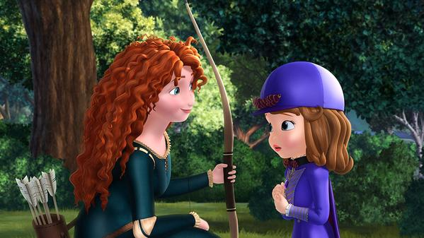 Merida Makes Her Way To Sofia The First : The Secret Library Special!