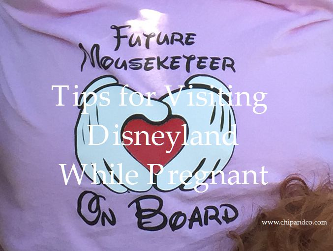 Tips for Visiting Disney While Pregnant