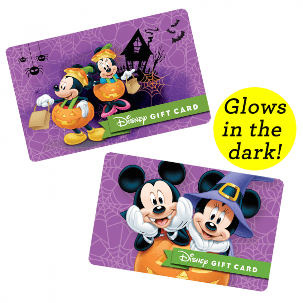 The Adorably Spooktacular Halloween Disney Gift Cards Now Available