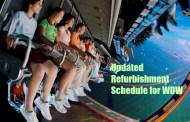 Updated Walt Disney World Refurbishment Schedule for October 2015