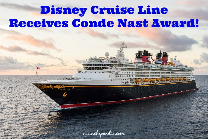 Disney Cruise Line Receives Top Honors (Again!) from Conde Nast!