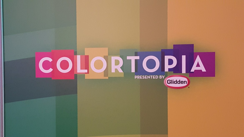 Glidden's Colortopia opens tomorrow in Epcot's Innoventions East.