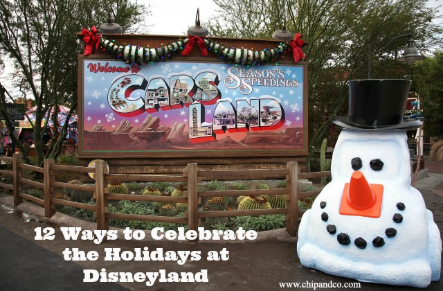 12 Ways to Celebrate the Holiday Season at the Disneyland Resort