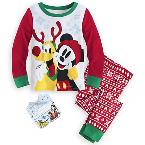 Christmas Pajamas Now on Sale at the Disney Store