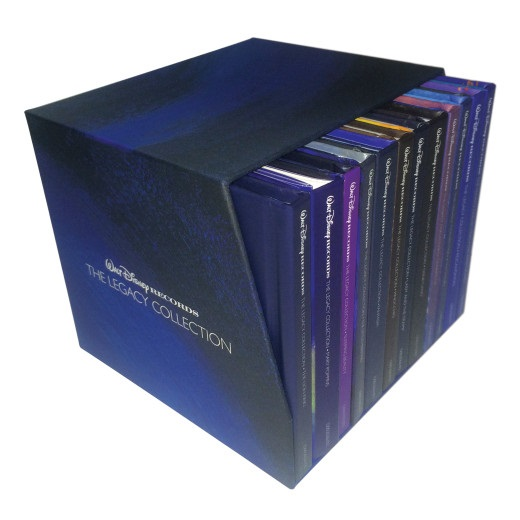 Walt Disney's The Legacy Collection Box Set: Share The Magic Of Disney Music And Legacy This Holiday Season