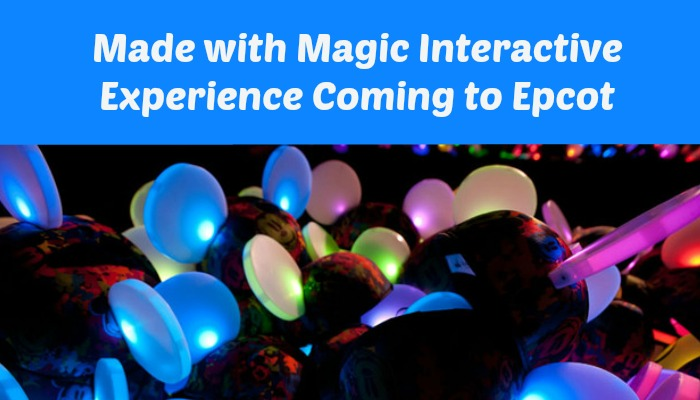 Epcot Will Begin Offering 'Made with Magic' Products November 23, 2015