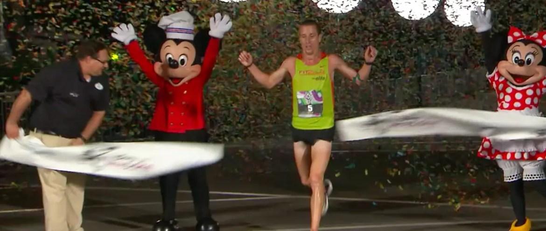 John Mott Takes First Place at Weather-Shortened 2015 Disney Wine & Dine Half Marathon