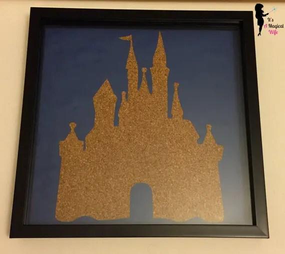 Disney Castle Pin Board