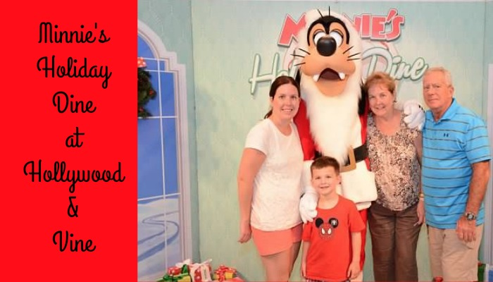 Dining Review- Minnie's Holiday Dine at Disney's Hollywood Studios