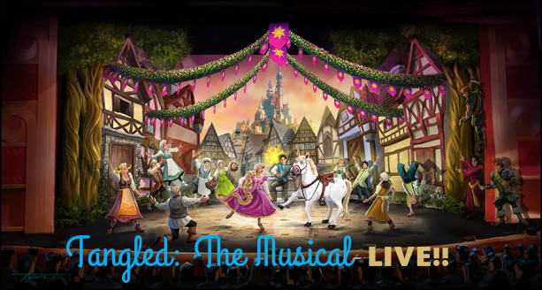 """Watch a Scene From """"Tangled: The Musical"""" LIVE!"""