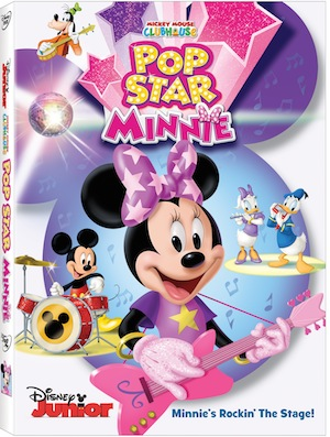 """New Mickey Mouse Clubhouse DVD """"Pop Star Minnie"""""""