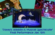 'Disney's Aladdin – A Musical Spectacular' has Final Performance Jan. 10th