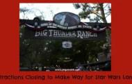 Several Attractions to Close to Make Way for 'Star Wars' Land at Disneyland