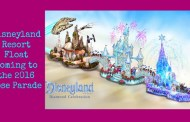 The Dazzling Adventures of the Disneyland Resort are Spotlighted in a Float for the 2016 Rose Parade