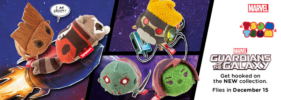 Tsum Tsum Tuesday is Going Out of this World of Guardians of the Galaxy!