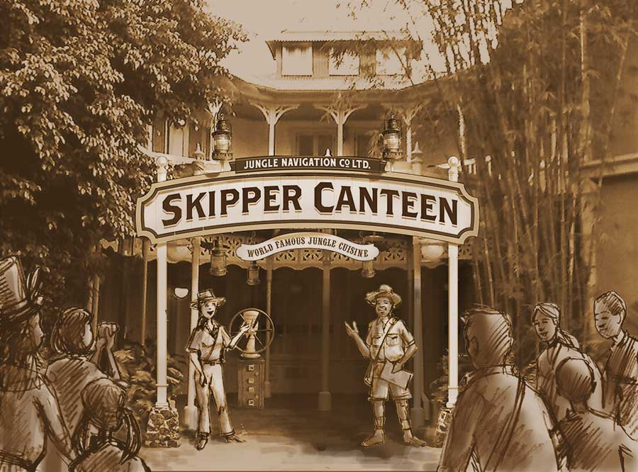 New Details Released on the Jungle Cruise Skipper Canteen Restaurant