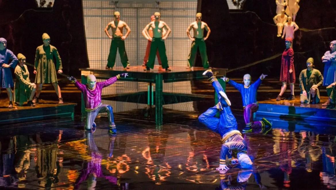New Acts Bring Fresh Energy to Cirque du Soliel's 'La Nouba'