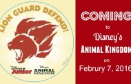 Animal Kingdom Will Debut New 'Lion Guard Adventure' on February 7th