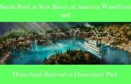 Sneak Peek at New Rivers of America Waterfront & Disneyland Railroad at Disneyland Park