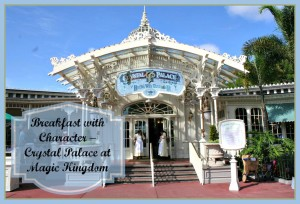 Breakfast with Character at the Crystal Palace in Disney's Magic Kingdom