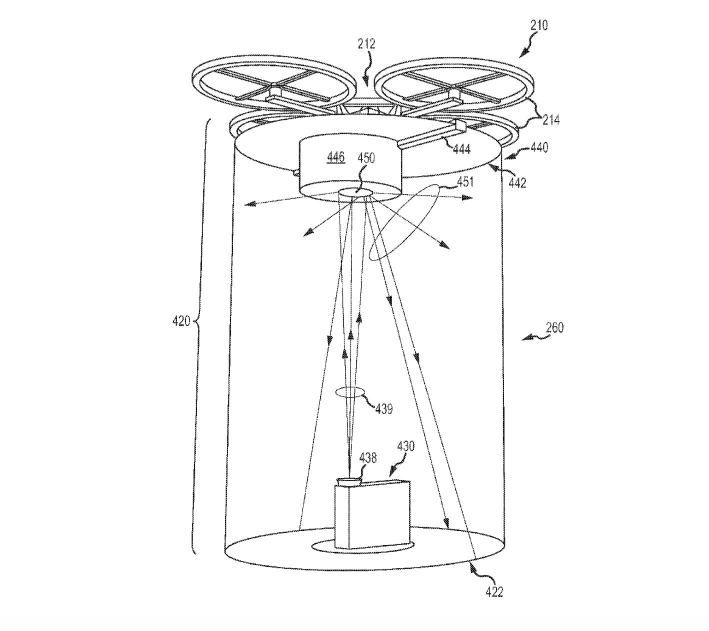 Disney Files For Patent For Projector To Work With Drones