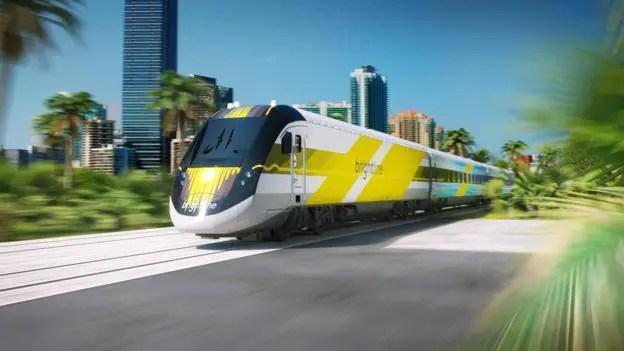 New Passenger Train from Miami to Orlando