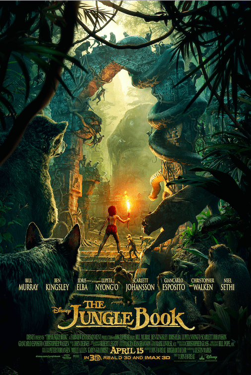The newest Jungle Book Trailer is Now Available