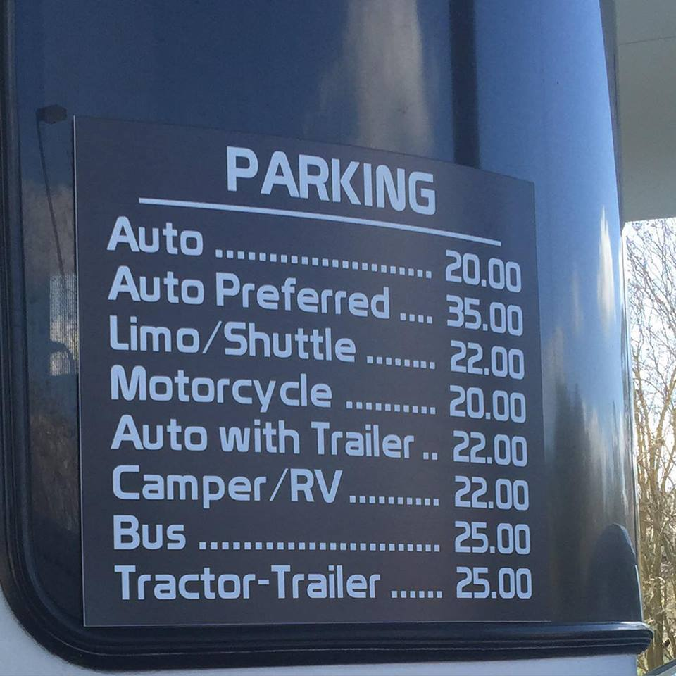 Premium Parking in effect at Walt Disney World