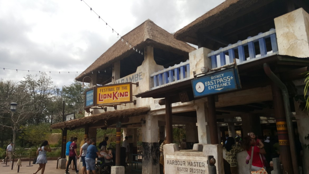 Fire at Festival of the Lion King in Disney's Animal Kingdom