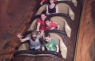 Angry wife riding Splash Mountain alone